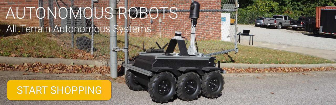 Autonomous Robot Banner
