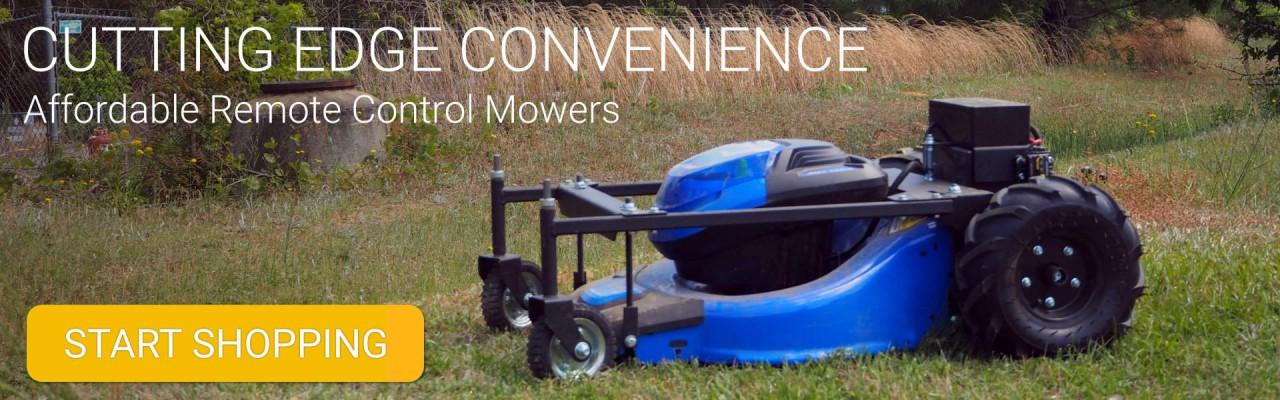 RC Robotic Lawn Mower