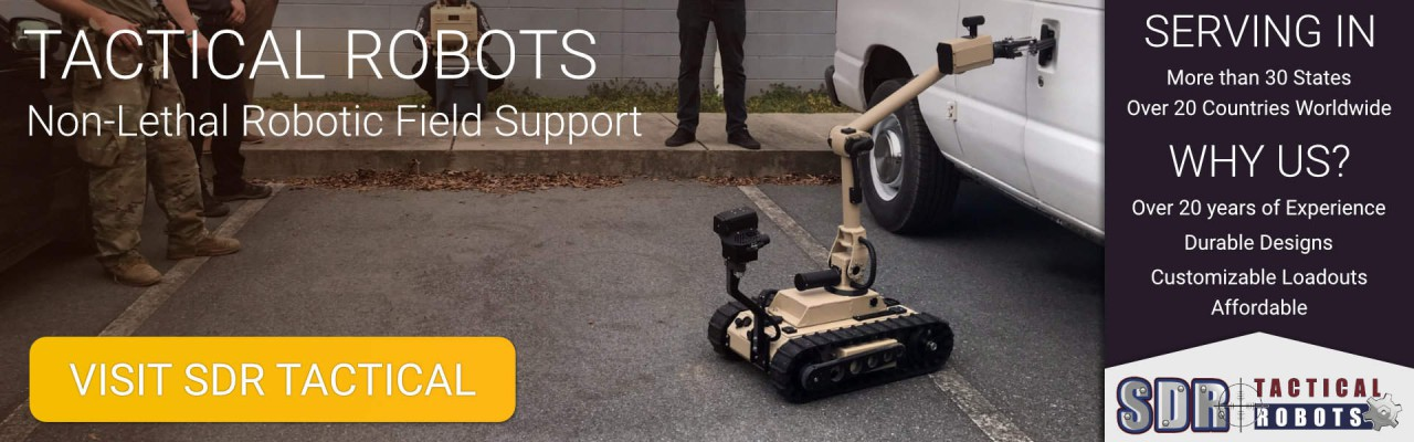 SDR Tactical Robot Banner