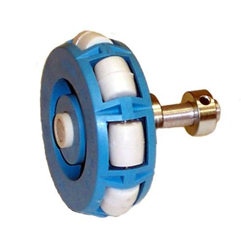 Omni-Wheel and Shaft Assembly - Single Row - DISCONTINUED