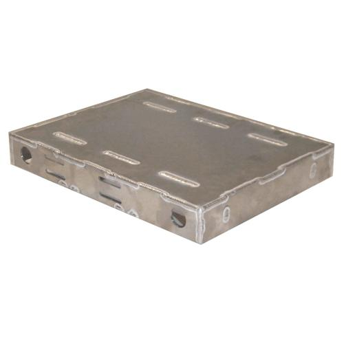 Welded Aluminum Heavy Duty 4WD Robot Chassis - IG42 DB