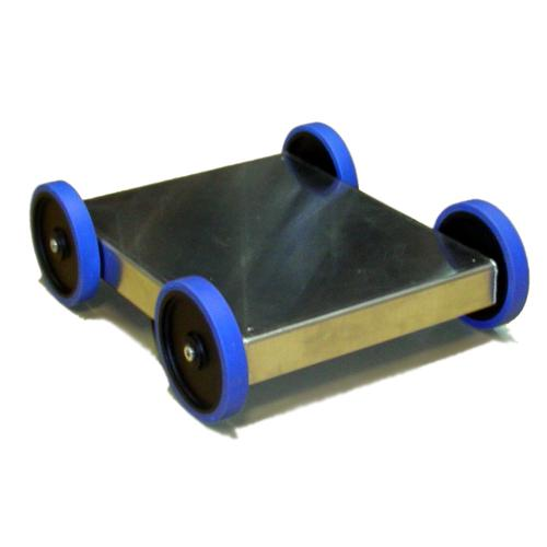 4WD Robot Chassis with 5 inch Wheels - IG32 DM - DISCONTINUED