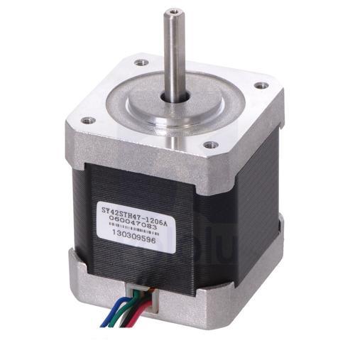 Stepper Motor Unipolar Bipolar 200 Steps per Rev 42×48mm 4V 1.2 A per Phase
