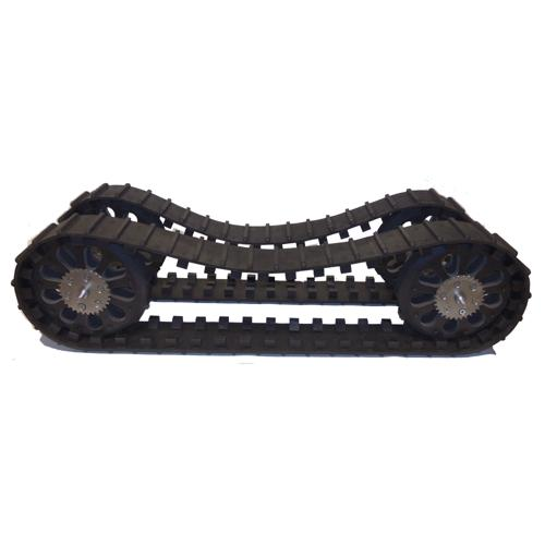 HD2 Pair of Molded Spliceless Tracks and Wheel Set - Generation 4