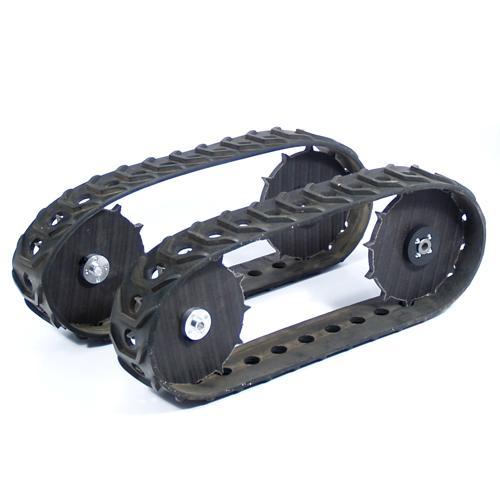 MLT-JR Pair of Molded Spliceless Tracks and Wheel Set