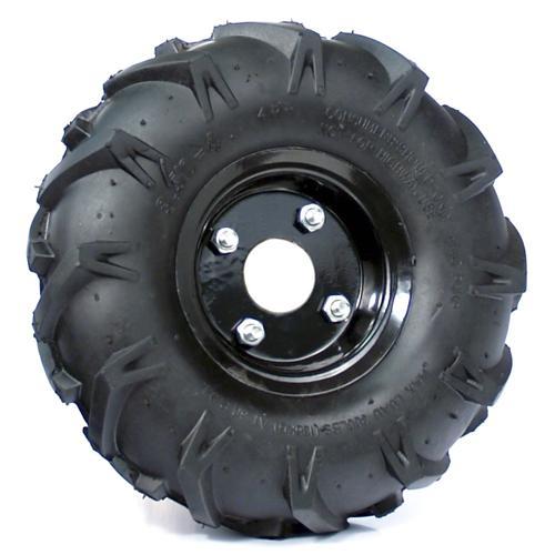 Robot Drive Wheel - Traction Lug 10 x 3.50-4 Tiller Tire