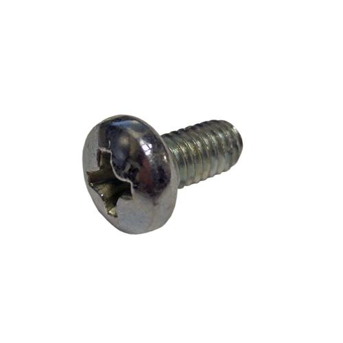 M4 Steel Mounting Screw, 8mm Length, Pan Head, Phillips Drive (Pack of 16)