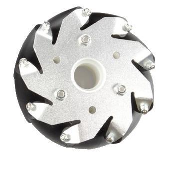 4 inch Nexus Mecanum Wheels - Plastic Sleeve Bearing - Set of 4