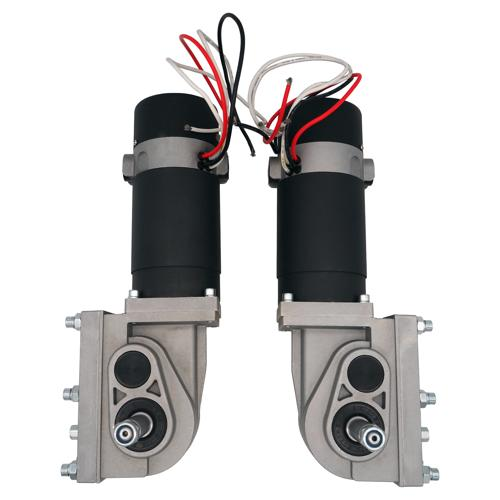 320 Watt 24VDC 120 RPM Wheel Chair Motor Pair with Electric Brake