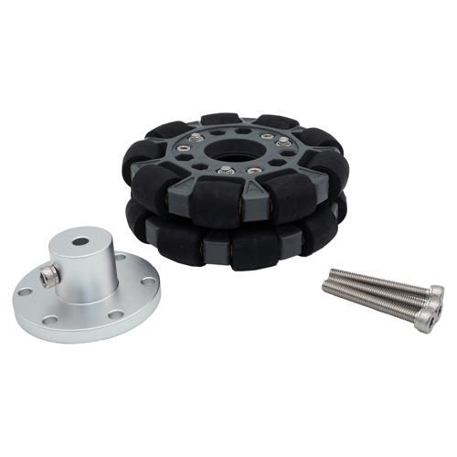 4 Inch Omni Wheel and Aluminum Hub Set