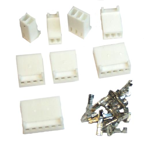 Assorted Crimping Molex Friction Lock Connectors