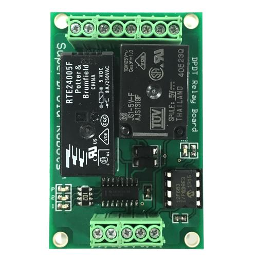 DPDT 8A Relay RC Switch