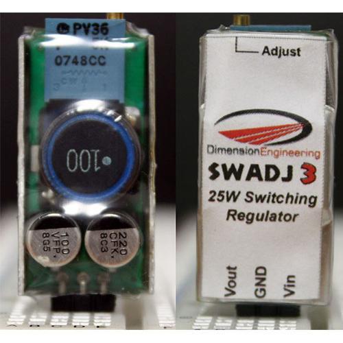 25W Step Down Adjustable Switching  Regulator