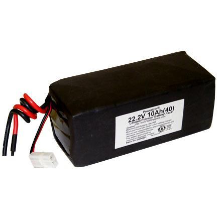 High Power Polymer Li-Ion Module 22.2V 10Ah