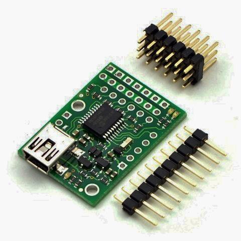 Pololu Micro Maestro 6-Channel USB Servo Controller (Unassembled)