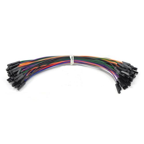 Pololu Premium Jumper Wire 50-Piece Rainbow Assortment F-F 6
