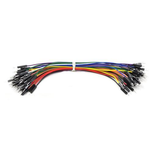 Pololu Premium Jumper Wire 50-Piece Rainbow Assortment M-M 6