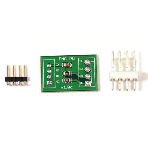 IG32, IG42, and IG52 Gear Motor Encoder Pull-up Board