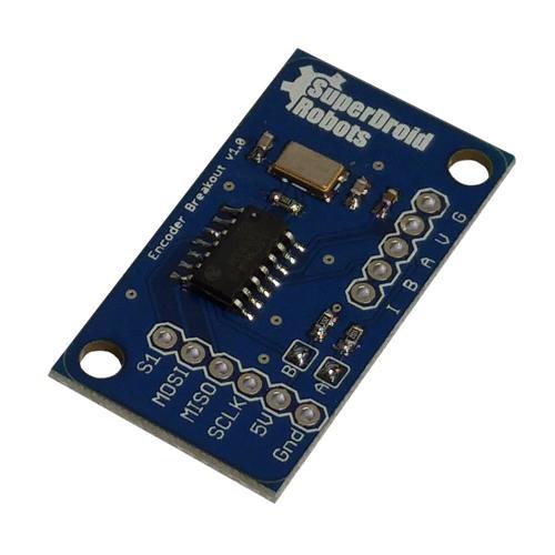 Single LS7366R Quadrature Encoder Buffer
