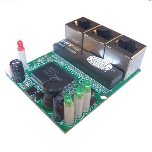 Ethernet Switch Module - 3 Port 10/100M