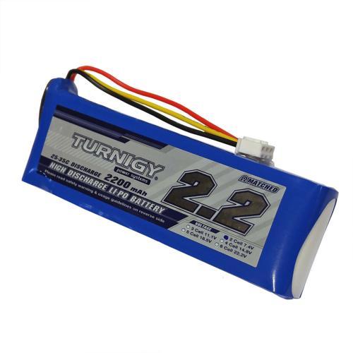 LiPo Battery 7.4V 2200 mAh
