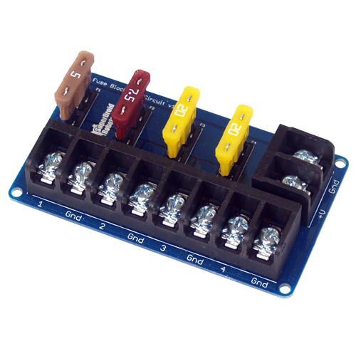 ATC Blade Fuse Block - 4 Circuit