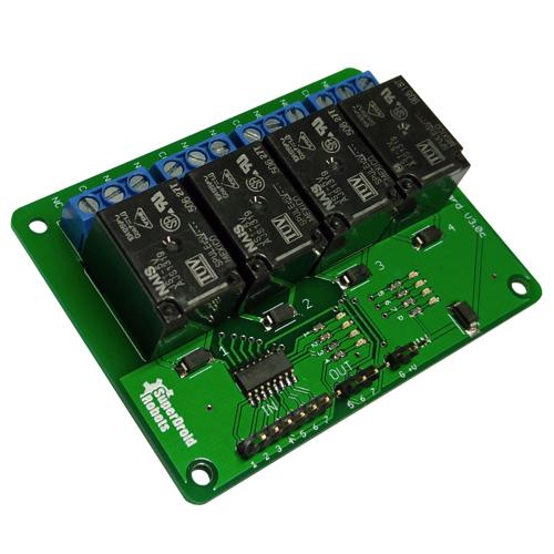 4 Relay, 7 Channel High Current TTL Driver Module