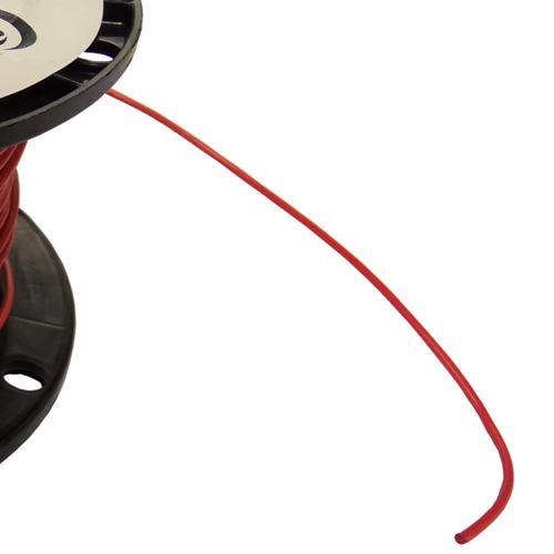 18AWG Red Stranded Hookup Wire - by the foot