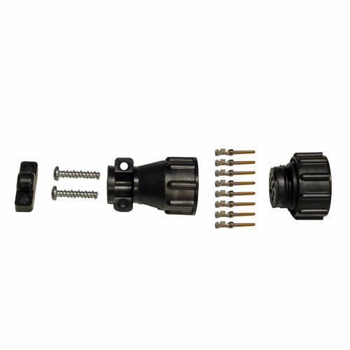8-Pin Circular Cable Connector