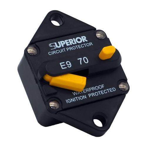 70A Waterproof Breaker Switch - IP67 Rating