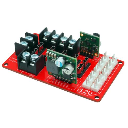 Deluxe Power Distribution and Regulator Board