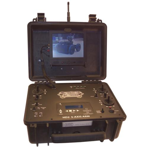 Enclosed Case COFDM Tactical Robot Controller - DISCONTINUED