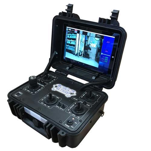 Enclosed Case 2.4Ghz Digital Tactical Robot Controller