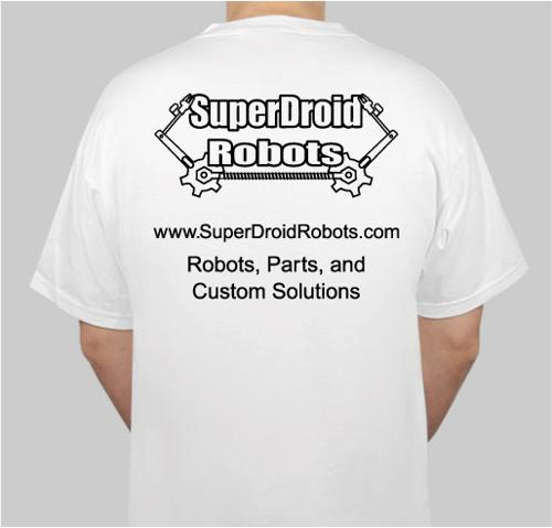 Superdroid Robots T-shirt