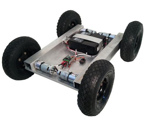 IG32 IG42-SB4-T, 4WD All Terrain Robot with Custom Length - DISCONTINUED