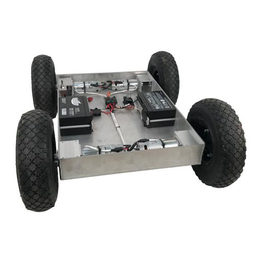 Configurable - IG42-SB4-T, Custom Size 4WD All Terrain Robot