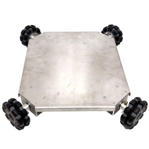 Quad-Wheel Omni-Directional Vectoring Robot Kit - IG32 or IG42 SB - DISCONTINUED
