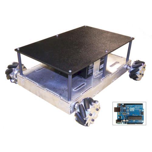 Configurable - Programmable Mecanum Wheel Vectoring Robot - IG32 SB