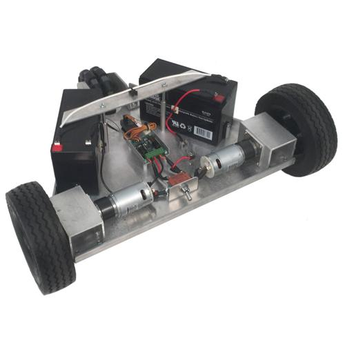 Configurable - IG32-SB2, 2WD Tube Mount Robot Platform