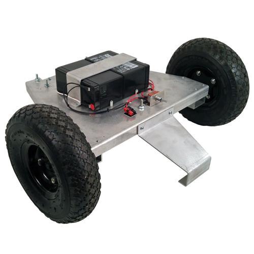 Configurable - IG42-SB2, 2WD Tube Mount Robot Platform
