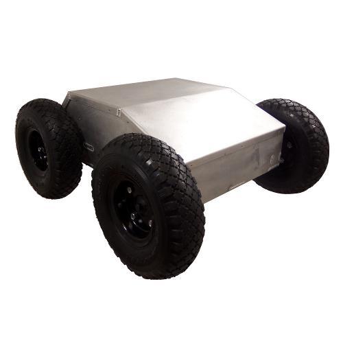 Configurable - IG42-SB4-E, 4WD All Terrain Enclosed Robot Platform