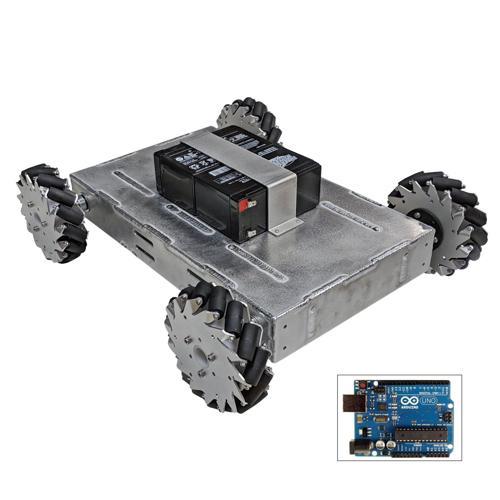 Configurable - Programmable Mecanum Wheel Vectoring Robot - IG42 DB