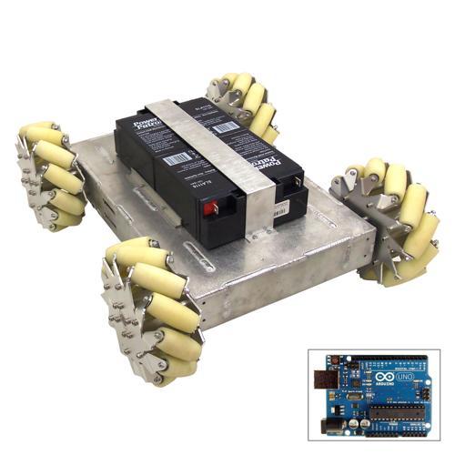 Configurable - Programmable Mecanum Wheel Vectoring Robot - IG52 DB