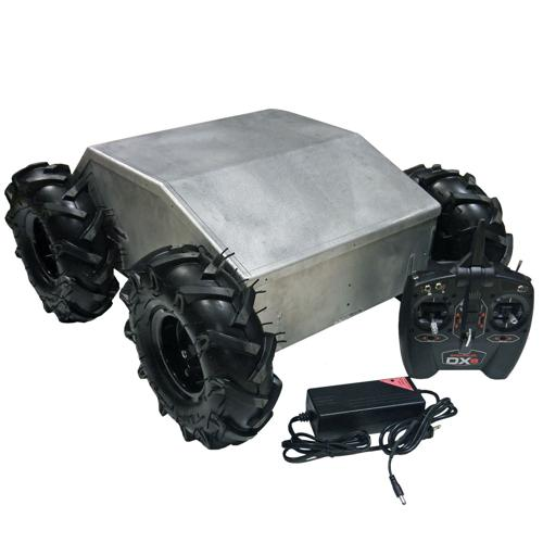 Configurable - IG52-DB4-E, 4WD All Terrain Heavy Duty Enclosed Robot Platform