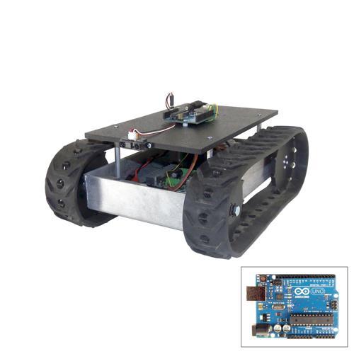 Configurable - Programmable MLT-JR Tracked Development Robot