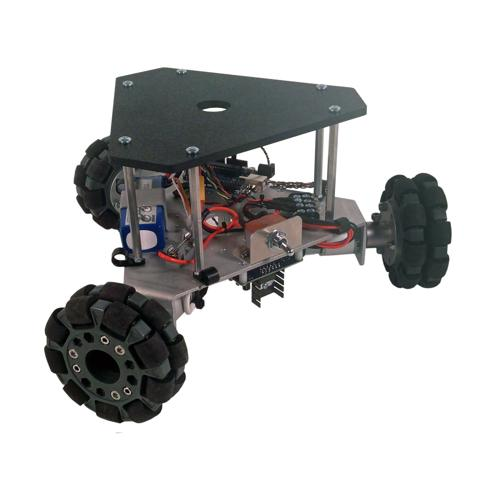 Configurable - Programmable Triangular Omni Wheel Vectoring Robot - IG32 DM