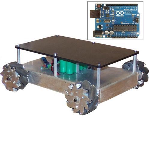 Configurable - Programmable Mecanum Wheel Vectoring Robot - IG32 DM