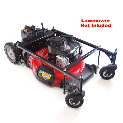 Lawn Mower Chassis Upfit Robot Package - IG52 DB - DISCONTINUED