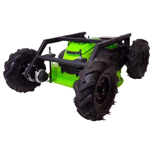 Remote Control Slope Electric 25 inch Lawn Mower - 4WD