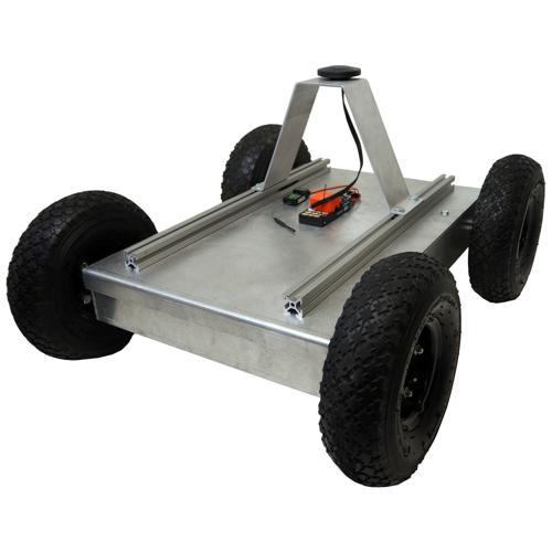 Autonomous GPS 4WD Robot